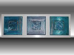 Smeraldo – Pittura in acrilico su 3 tele 20x20  http://ilmondodifam.wix.com/famou