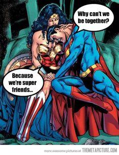 And because Wonder Woman belongs with Batman...