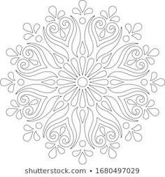 Mandala Art, Geometric Mandala Tattoo, Mandala Drawing, Indian Embroidery Designs, Hand Embroidery Design Patterns, Machine Quilting Patterns, Doodle Coloring, Mandala Coloring, Color Me Badd