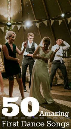 50 Amazing First Dance Songs