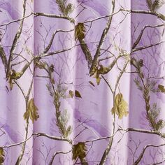 And maybe my own redneck bathroom ;) Purple Camo Shower Curtain