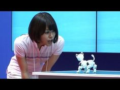 i-SODOG robot pet dog controlled by smartphone.