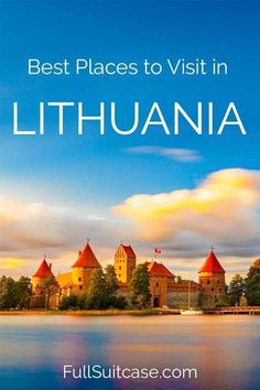 Best places to visit in Lithuania and the best things to do in Lithuania including the nicest towns, nature, and more. Find out! Europe Travel Tips, European Travel, Travel Advice, Travel Destinations, Holiday Destinations, Italy Travel, Travel Ideas, Beautiful Places To Visit, Cool Places To Visit