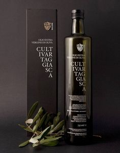 Cultivar Taggiasca Extra Virgin Olive Oil. Packaging Design