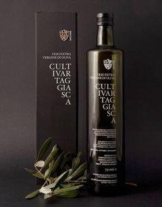 Cultivar Taggiasca Extra Virgin Olive Oil. Packaging Design