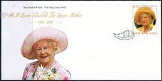 New Zealand 2002  Queen Mother Commemoration Set on First Day of Issue Cover SG 2509 Scott 1788 Other New Zealand Stamps HERE