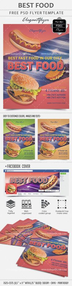 Best Food – Free Flyer PSD Template + Facebook cover https://www.elegantflyer.com/free-flyers/best-food-free-flyer-psd-template-facebook-cover/