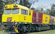 The Australian rail company Queensland Rail (QR) ordered 38 diesel-electric locomotives with three-phase traction of type Freight Locomotive GT 42 CUAC www.worldmy.info/locomotive/freight-locomotive-gt-42-cuac.html