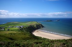 Rhossili Bay Gower Wales  #village #rhossili #gower #wales #photography