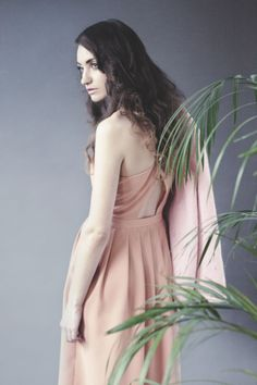 TWP in Zeum Magazine! Model's wearing Pinafore Midi Dress Coral http://www.thewhitepepper.com/products/pinafore-midi-dress-coral