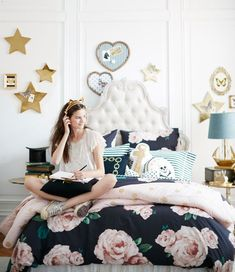 INSPIRATION DAY: A beautiful teen bedroom [Très Chic]