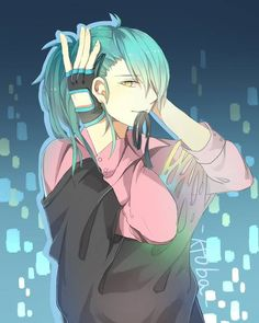 Aoba Seragaki // I'm guessing Trip and/or Virus gave him this outfit?