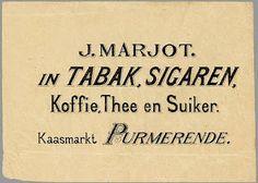 Vintage Tobacco's Labels
