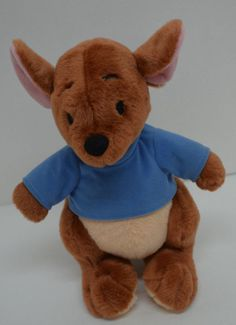 "Disney Store Exclusive Winnie Pooh Roo Plush Blue Shirt Stuffed Animal 11"" #Disney http://stores.ebay.com/Lost-Loves-Toy-Chest?_dmd=2&_nkw=disney"