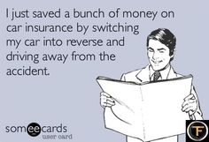 I just saved a bunch of money on car insurance! Lol! #carmeme