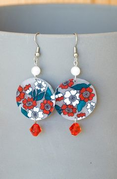 Handmade Shrink Plastic Earrings