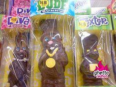 Thug life chocolate bunnies