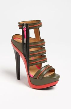 L.A.M.B. 'Chelly' High Sandal available at Nordstrom
