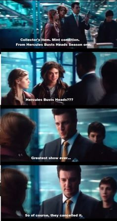 I'm thinking not a whole lot of people caught this Firefly reference in Percy Jackson Sea of Monsters.  But if you're a Firefly fan like me, you laughed out loud when Nathon Fillion delivered this line, for me, the most memorable line of the movie, and then, you probably cried a little, wishing there was more Firefly.