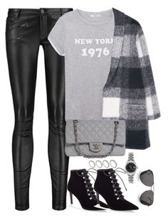 """Unbenannt #1968"" by luckylynn-cdii ❤ liked on Polyvore featuring Maje, MANGO, Balenciaga, Chanel, Rolex, Yves Saint Laurent and ASOS"