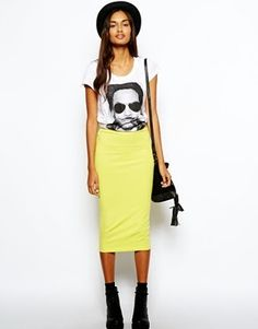 #tendencias #StreetStyle #fashionblogger faldas midi #asos