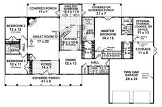 1000 images about house plans under 2500 sq ft on for Houseplans bhg com