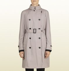 Grey Trenchcoat by Gucci. Buy for $1,395 from Gucci