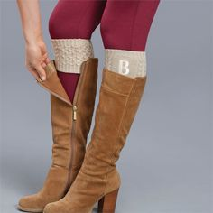 CYBER MONDAY DEAL: Chelsea Initial Boot Cuff | Living | Mud Pie