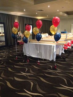 Balloon decoration in vintage circus / carnival theme / formal