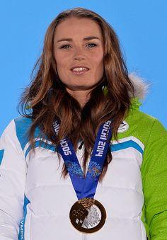 Tina Maze (Slovenia) | Winner of Gold Medal for Alpine Skiing (women's giant slalom)