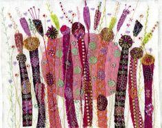 NANCY NICHOLSON: Embroideries
