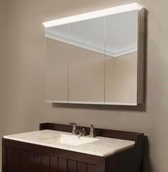 """Priolo Mirror Medicine Cabinet 39.37"""" from Sidler"""
