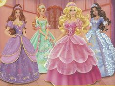 Barbie and the Three Musketeers  Who was your favorite of the four? Mine was Aramina