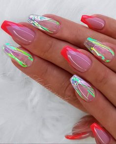Beautiful Glittering Short Pink Nails Art Designs Idea For Summer And Spring - Lily Fashion Style Acrylic Nail Designs, Nail Art Designs, Acrylic Nails, Short Pink Nails, Manicure Colors, Pink Nail Art, Pretty Nail Art, Gradient Nails, Ongles