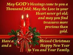 Have a Blessed Christmas and a Happy New Year Blessed Christmas Quotes, Christmas Scripture, Merry Christmas Message, Christmas Blessings, Merry Christmas And Happy New Year, Christmas Greetings, Christmas Time, Christmas Glitter, Christmas Holiday