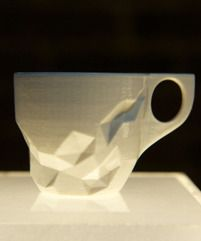 espresso cups fashioned by a collective of NYC designer