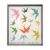 Found it at Wayfair - Excuse Me While I Kiss The Sky Art Print