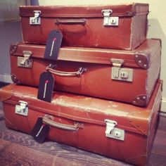 Vintage Suitcases at BuyMyWardrobe