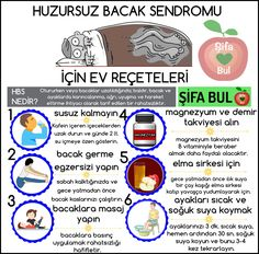 HUZURSUZ BACAK SENDROMU İÇİN ETKİLİ EV REÇETELERİ Restless Leg Syndrome, Alternative Therapies, Natural Cures, The Cure, Drinks, Health, Aspirin, Fitness, Drinking