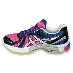 Ideal for the female #runner the GEL-Exalt™. Officially awarded APMA Seal of Acceptance/ Approval. Find more APMA approved running products at apma.org!