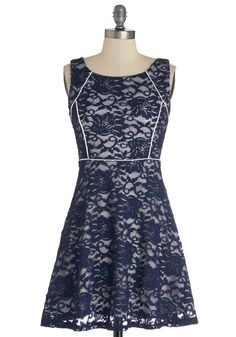 Allure of Nightfall Dress. In this indigo floral lace dress, you can capture those intoxicating moments just before the sun sinks fully behind the horizon.