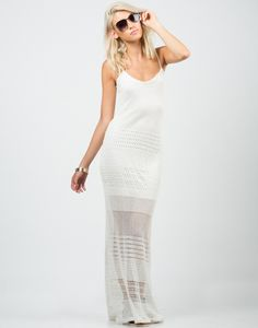 Netted Maxi Dress – $37.00 – 2020AVE