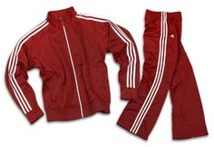 Adidas Womens Athletic and Casual Tracksuit, Pants and Jacket X-Large, University Red. From #Reebok. Price: $49.95