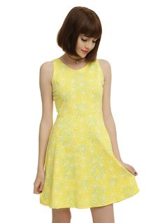 This looks like Joy's dress (Disney Inside Out).  It would be perfect to wear to Epcot!
