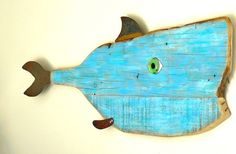 Leonardo di CARP-rio 7 Large driftwood fish by SwimminwitdaFishes