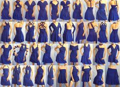 All 40 ways to wear a convertible dress / infinity dress