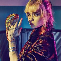 Grimes for Nylon Singapore Photo: An Le (www.anlestudio.com) Dress: Louis Vuitton Style: Turner Hair: Derek-Peter Williams Make-up: Kelsey Deenihan Production & Casting: PAVON NYC
