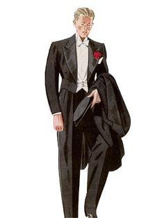 Esquire 1930s Formal Menswear