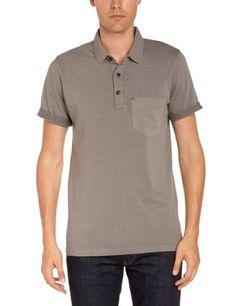 Bench Herren Polo Shirt , Rundkragen  - Schwarz - Raven - xl (Herstellergröße: X-Large)