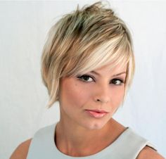 Short Hairstyles for Round Faces and Fine Hair 2013